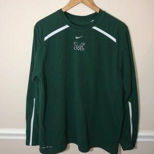 Nike Thermafit Michigan State Fleece Green M